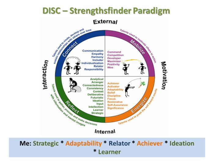 DISC ~ Strengthsfinder Paradigm
